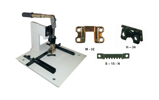 Toggle Press Machine For Self Fastening Hangers